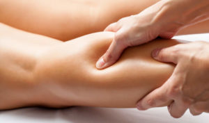 Calf massage