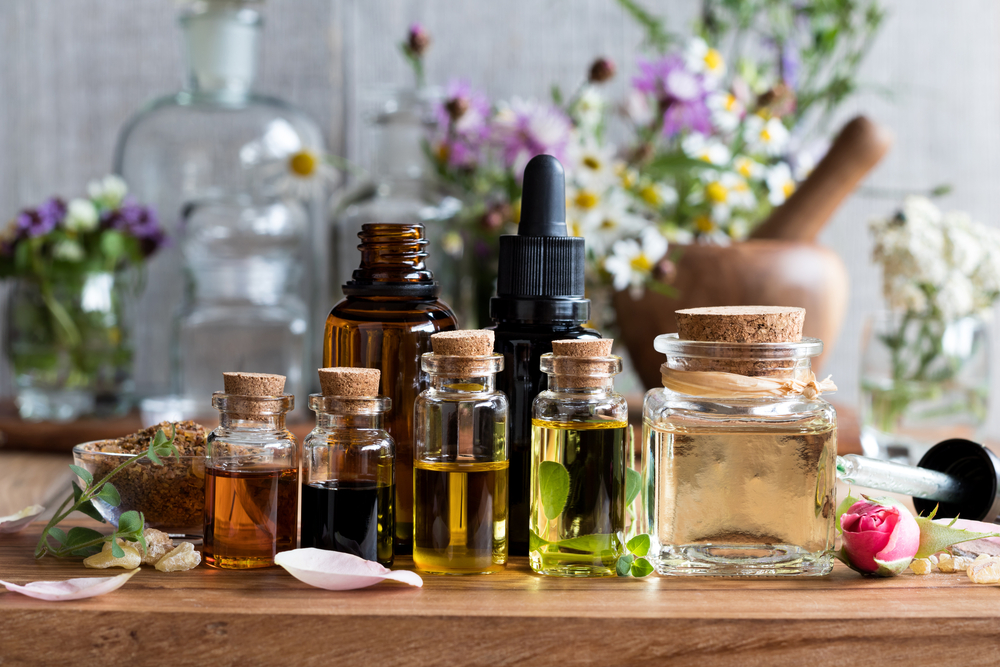 essential oils massage therapy