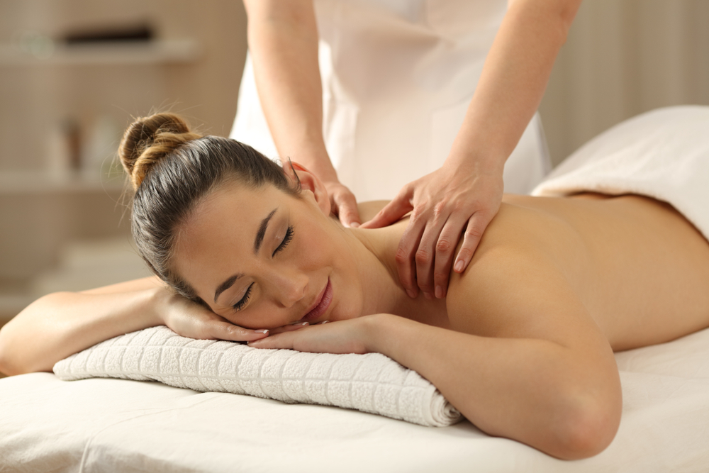 massage therapy stress relief